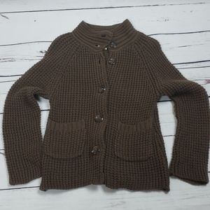 Old navy girls 5t brown sweater